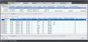 Выгрузка в Excel бухгалтерских операций